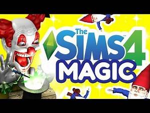 The Sims 4 Magic coming soon? 🔮💫 Magic, witches & clues! 🌟🎩