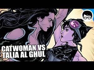 CATWOMAN VS TALIA AL GHUL | Batman Rebirth #35 | COMIC NARRADO