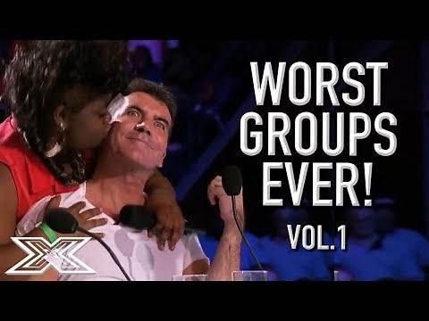 The WORST GROUP AUDITIONS On X Factor! Volume 1 | X Factor Global