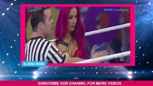 Full Match _ Charlotte Vs Becky Lynch Vs Sasha Banks _ 10 March 2016 WM 32