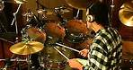 Jonathan Mover drum solos based on Gary Chaffee´s patterns