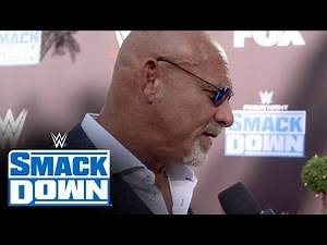 """Goldberg steps out of comfort zone on the """"blue carpet"""": SmackDown Exclusive, Oct. 4, 2019"""