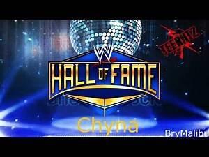 WWE Chyna Custom Hall of Fame Custom Titantron #ThankYouChyna #RIPChyna