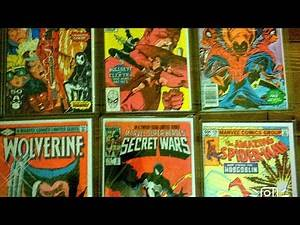 Comic book collection favorites top comic books and covers key issue