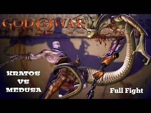 God Of War (Part - 4) KRATOS VS MEDUSA