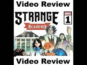 Marvel Comics Review: Strange Academy #1