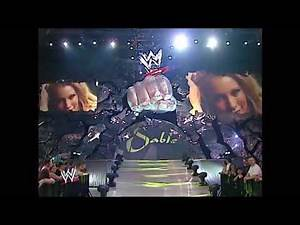 Dawn Marie & Nidia With Jamie Noble vs Torrie Wilson & Sable SmackDown 05 01 2003