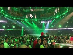 Triple H entrance Wrestlemania 34