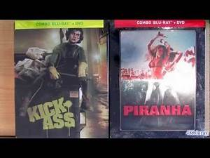 Piranha Kick-Ass STEELBOOK blu-ray unboxing review from Canada
