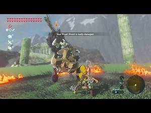 Zelda Breath of the Wild - The Most Durable Shields in the Game