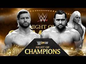 Night Of Champions 2015 - Dolph Ziggler vs Rusev (WWE 2K15 Mods)