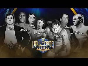 Congratulations to the 2016 Legacy Inductees: 2016 WWE Hall of Fame on WWE Network