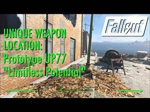 """Fallout 4 Unique Weapon Prototype UP77 """"Limitless Potential"""""""
