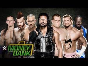 WWE Money In The Bank 2015 ►MitB Ladder Match [OFFICIAL PROMO HD]