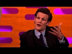 MATT SMITH: Scoop on the DW Xmas Special (The Graham Norton Show Christmas Special)