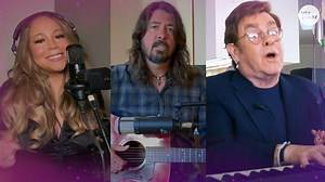 Mariah Carey, Dave Grohl perform from home for TV charity concert