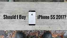 Should I buy iPhone 5S in 2017?
