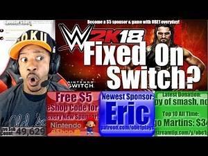 Did Today's Patch Finally Fix WWE 2K18 On Nintendo Switch?