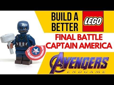 HOW TO Build LEGO FINAL BATTLE CAPTAIN AMERICA from AVENGERS ENDGAME