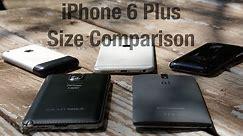iPhone 6 Plus Size Comparison
