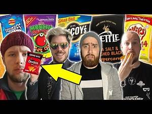Desert Island Crisps - Adam Blampied, Luke Owen, Pete Quinell & Andy Datson (WrestleTalk After Dark)