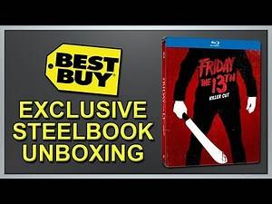 Friday the 13th (2009) Best Buy Exclusive Blu-ray SteelBook Unboxing