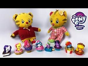 My Little Pony Fun Play MLP with Daniel Tiger and Baby Sister Margaret
