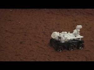 NASA JPL - Mars Rover Curiosity Adventures Footage - Mars Science Laboratory - Hot Wheels