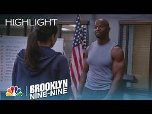 Brooklyn Nine-Nine - Amy Breaks Terry's Nose (Episode Highlight)