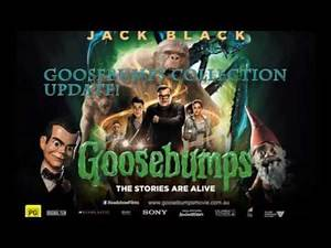 Goosebumps Movie Merchandise!