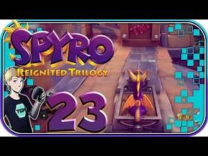 Spyro Reignited Trilogy Walkthrough - Part 23: TROUBLE WITH THE TROLLEY, EH?
