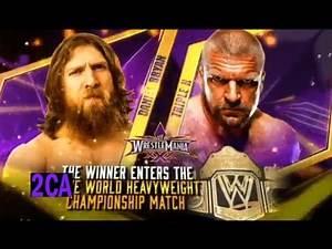 WWE Wrestlemania 30 Match Card V2