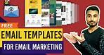 Free Email Marketing Templates For Gmail | Email Template Design Tutorial In Hindi | Email Marketing