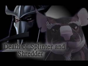 TMNT 2012~ Death of Splinter and Shredder~The words of consolation from me