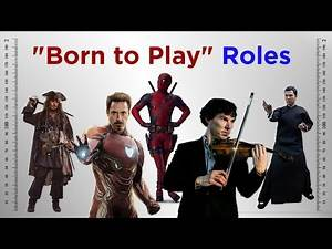 Actors who were Born to Play a Certain Role
