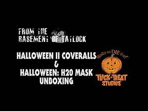 Trick or Treat Studios Halloween II Coveralls and H20 Michael Myers Mask Unboxing