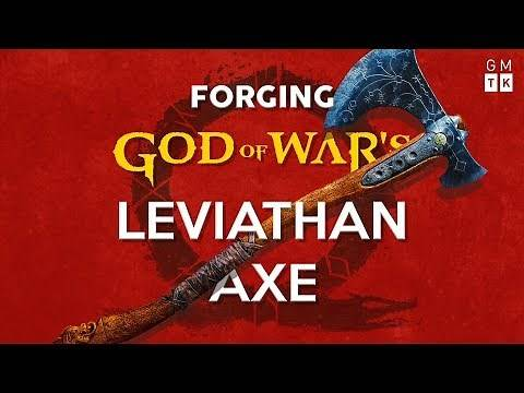 Forging God of War's Leviathan Axe   Game Maker's Toolkit