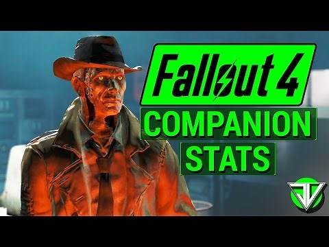 FALLOUT 4: Complete List of Companion SPECIAL Stats in Fallout 4! (Hidden Stats for Every Follower)