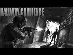 HALLWAY CHALLENGE (New Map)(Call of Duty Zombies Mod)