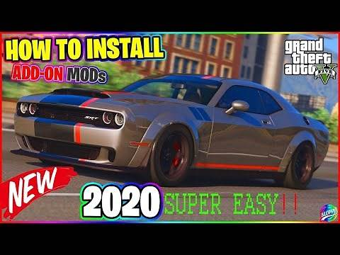 How To Install Car Mods in GTA V / GTA 5 *2020* EASY METHOD!! ADD-ON Car Mod (STEP BY STEP GUIDE)