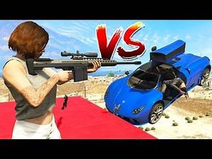 SNIPERS vs STUNTERS!! (GTA 5 Online)