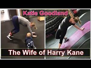 Workout of Katie Goodland || Wife of Famous English Footballer Harry Kane