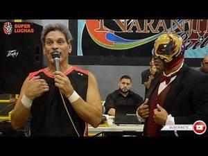 """Huracán Castillo:""""Pupe te voy a dar merito por que luchaste con el Mostro de la Lucha Libre"""""""