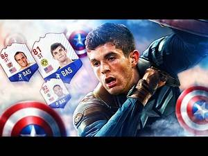 WHAT A CARD! CAPTAIN AMERICA STRIKER PULISIC! BEST EVER AMERICAN SQUAD! FIFA 17 ULTIMATE TEAM