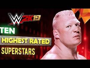 10 Highest Rated WWE 2K19 Superstars You Should Check Out