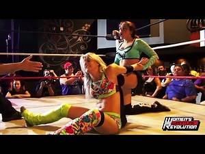 [Free Match] Candice LeRae & Solo Darling vs. Belmont & Vionette | Women's Wrestling Revolution