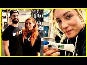 WWE Superstars React to Becky Lynch's Pregnancy   WWE Becky Lynch And Seth Rollins 2020