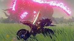 Zelda: Breath of the Wild - Master Cycle Zero & Dark Beast Ganon Boss Fight