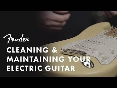 How To Clean Your Electric Guitar | Fender