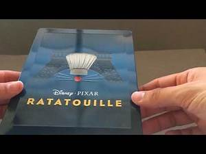 RATATOUILLE [ZAVVI] PIXAR LIMITED EDITION STEELBOOK COLLECTION #13 BLU RAY REVIEW